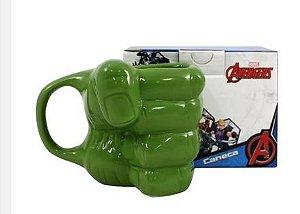 Caneca 350ml Formato 3d Mao Hulk- Zona