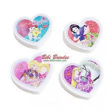 Borracha Plastica Top Princesas - Tris
