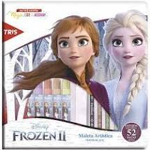 Caneta Hidrocor 12 Cores Bolsa Frozen - Tris