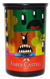 Apontador C/dep Monster Puzzle - Faber Castell