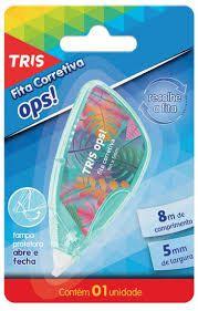 Fita Corretiva 5mm C/8m Ops - Tris