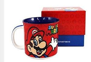 Caneca 350ml Tom Super Mario - Zona