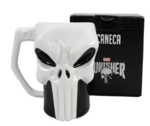Caneca 400ml Formato 3d Punisher - Zona