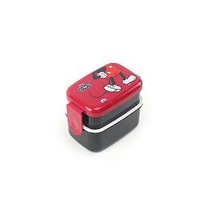 Lunch Box C/2 Compartimentos Mickey Pernas - Zona