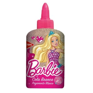 Cola Branca 40g Barbie - Tris