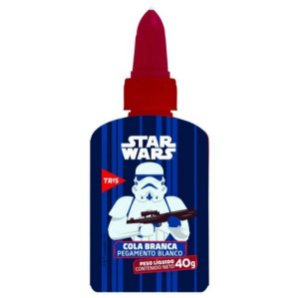 Cola Branca 40g Star Wars  - Tris