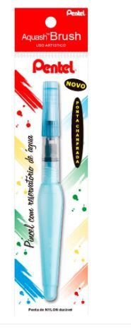 Pincel Aquash Brush Ponta Chanfrada - Pentel