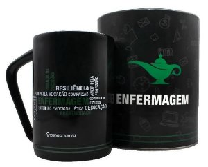 Caneca 300ml Profissoes Enfermagem - Zona