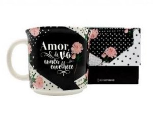Caneca 350ml Tom Amor De Vo - Zona