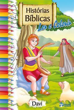 Biblia Livro De Colorir Davi - Bicho Esperto