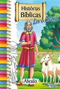 Biblia Livro De Colorir Abraao - Bicho Esperto