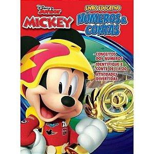 Atividades Educativas Mickey Numeros - Bicho
