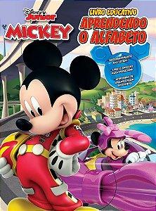 Atividades Educativas Mickey Alfabeto - Bicho