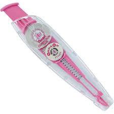 Fita Corretiva 5mm Rosa - Pentel