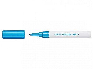 Marcador Fine 1,0mm Pintor Azul Metalico - Pilot