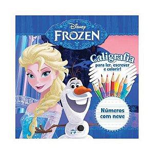 Disney Frozen - Caligrafia Numeros C/neve - Bicho