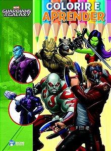 Colorir E Aprender Marvel Guardioes Galaxia -bicho