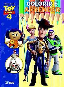Colorir E Aprender - Disney Toy Story 4 - Bicho