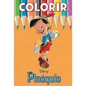 Disney Colorir Medio - Pinoquio - Bicho Esperto
