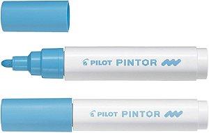 Marcador Medio 1,4mm Pintor Azul Pastel - Pilot