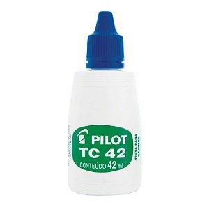 Tinta Carimbo 42ml Azul - Pilot