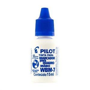Tinta Marcador Quadro Bco 15ml Azul - Pilot