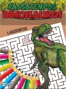 Passatempo Labirinto Dinossauros - Bicho Esperto