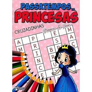 Passatempo Cruzadinhas Princesas - Bicho Esperto