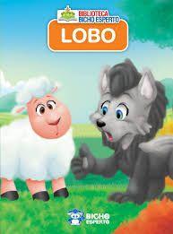 Mini Biblioteca Animais - Lobo - Bicho Esperto