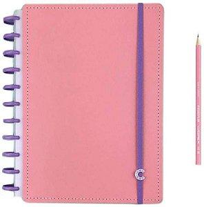 Caderno Inteligente Grande Rose Pastel - Caderno I