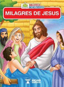Mini Biblioteca Biblico - Milagres Jesus - Bicho E