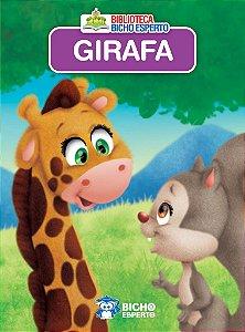Mini Biblioteca Animais - Girafa - Bicho Esperto