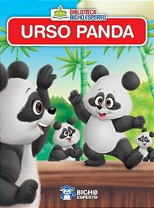 Mini Biblioteca Animais - Urso Panda - Bicho Esper