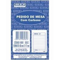 Bloco Pedido 50f Mesa C/carbono 2 Vias - Sd
