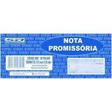 Bloco Nota Promissoria 215x95cm 50f Amarela - Sd