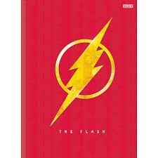 Caderno Broc Cd 1m 80f The Flash - Sd