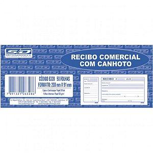 Bloco Recibo 200x91cm 50f Comercial C/canhoto - Sd