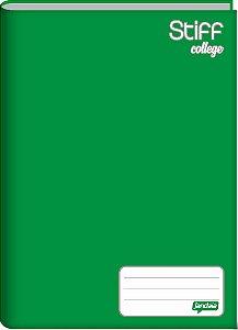 Caderno Broc Cd 1/4 48f Stiff Verde - Jandaia