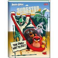 Caderno Broc Cd 1/4 96f Angry Birds Filme -jandaia