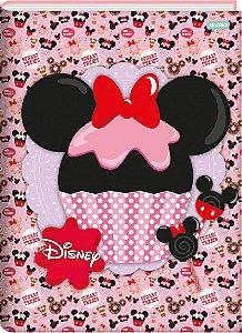 Caderno Broc Cd 1/4 48f Disney Sweetness - Jandaia