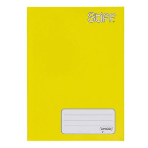 Caderno Broc Cd 1/4 48f Stiff Amarelo - Jandaia