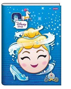 Caderno Broc Cd 1/4 48f Disney Emoji - Jandaia