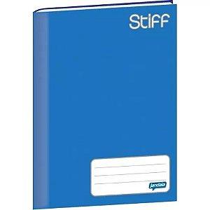 Caderno Broc Cd 1/4 96f Stiff Azul - Jandaia