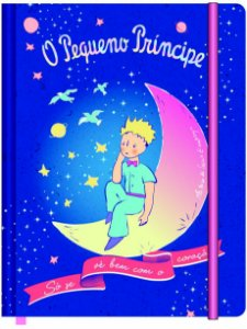 Caderneta Esp 1/8 S/p 80f Pequeno Prince - Jandaia
