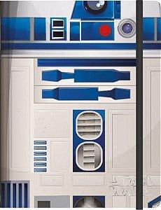 Caderneta Esp 1/8 S/p Star Wars 80fls - Jandaia