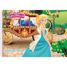 Caderno Cartografia 60fls Princess - Sd