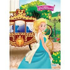Caderno Broc Cd 1m 96f Princesses - Sd