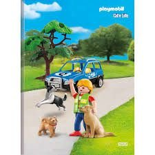 Caderno Broc Cd 1m 96f Playmobil - Sd