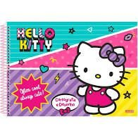 Caderno Esp Cartografia Cd 60f Hello Kitty - Sd