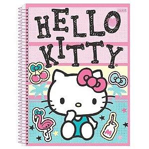 Caderno Esp Cd 1/4 96f Hello Kitty - Sd